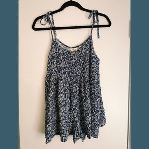 Urban Outfitters Floral Romper